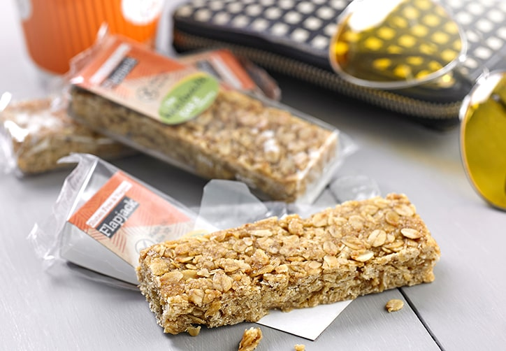 Vegan & Gluten Free Flapjack Individually Wrapped