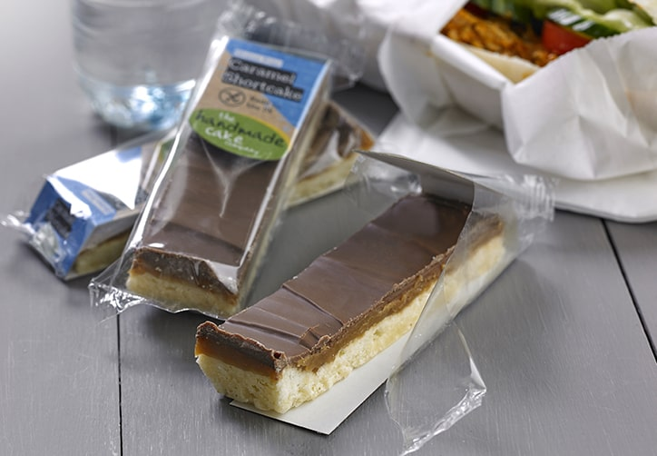 Gluten Free Caramel Shortcake Individually Wrapped
