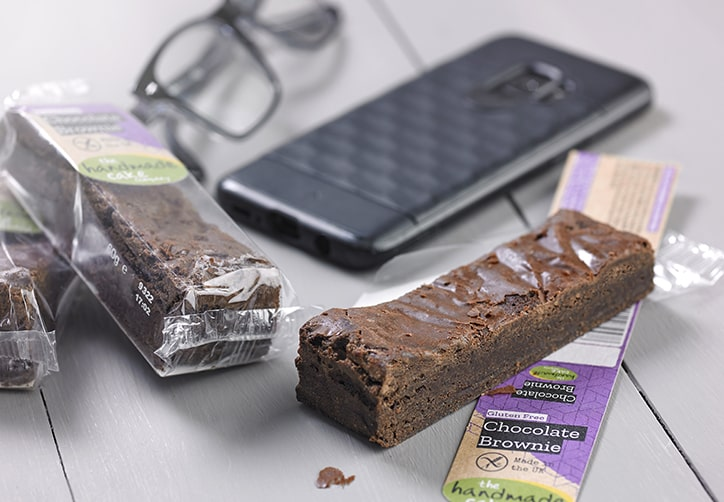 Gluten Free Chocolate Brownie Individually Wrapped