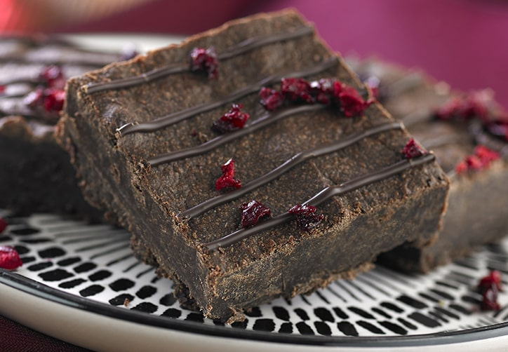 Vegan Cherry Brownie