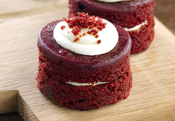 Vegan Red Velvet Mini Cake