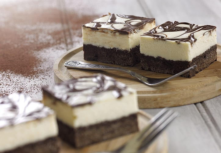 Gluten Free Chocolate Brownie Cheesecake