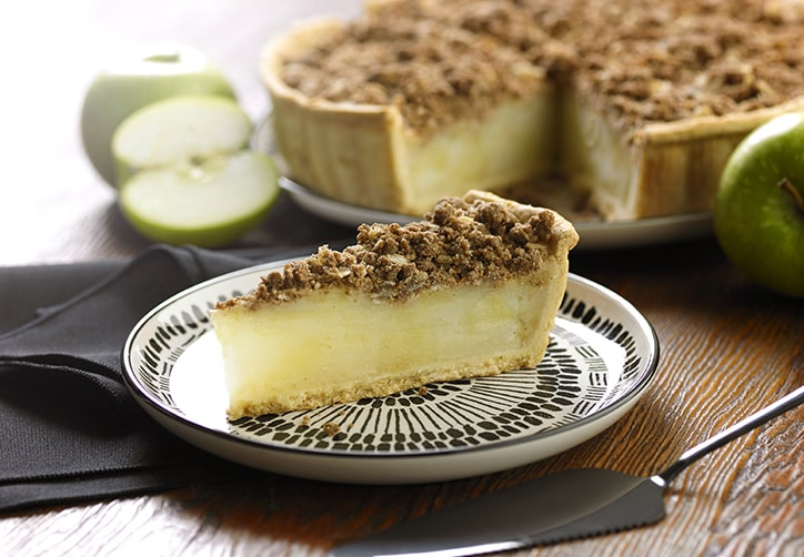 Gluten Free Deep Dish Apple Crumble Pie