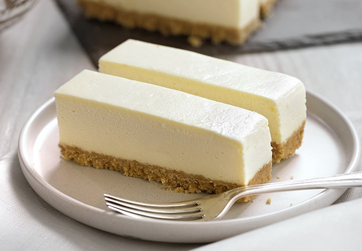 Gluten Free New York Style Vanilla Cheesecake