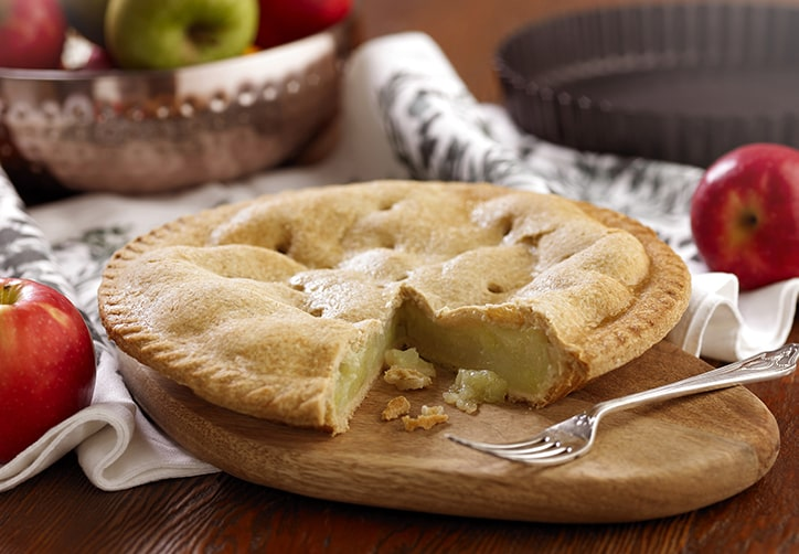 Vegan Plate Apple Pie