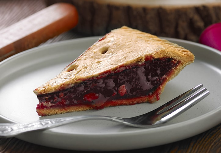 Vegan Plate Cherry Pie