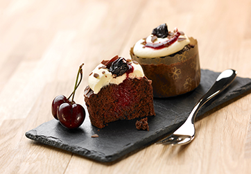 Black Forest mini cake