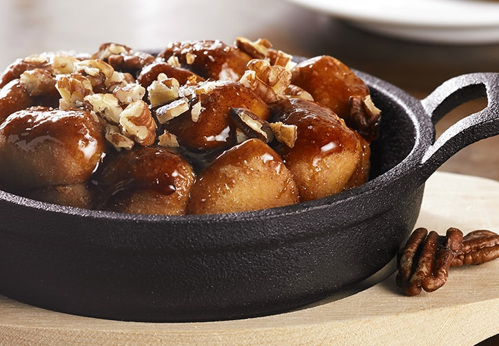 Caramel and Pecan Monkey Bread Pudding