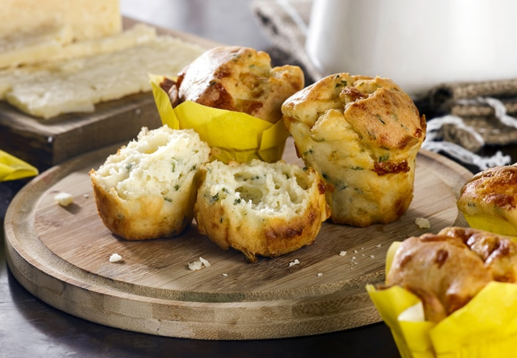 CHEESE & CHIVE MINI MUFFINS