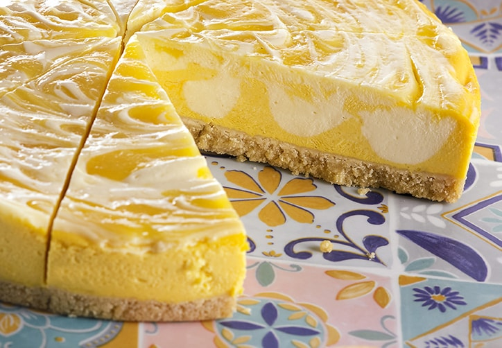 SICILIAN LEMON CHEESECAKE