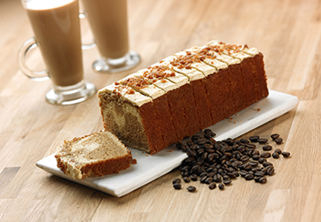Salted caramel Latte Loaf
