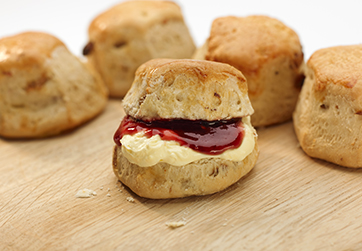 Sultana scones (available large)