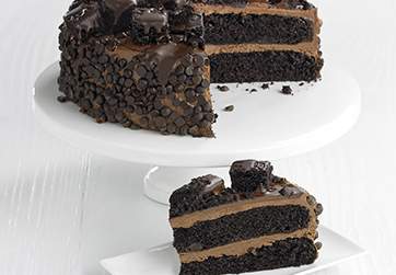 Ultimate Chocolate Fudge Cake