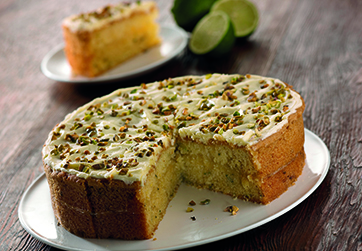 Zucchini and Lime Cake