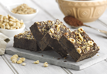 Gluten Free & Vegan Praline Chocolate Brownie