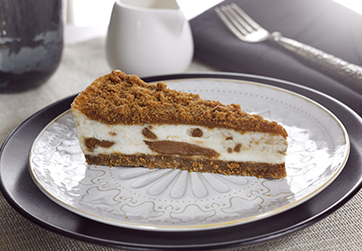 Vegan Speculoos Cheesecake