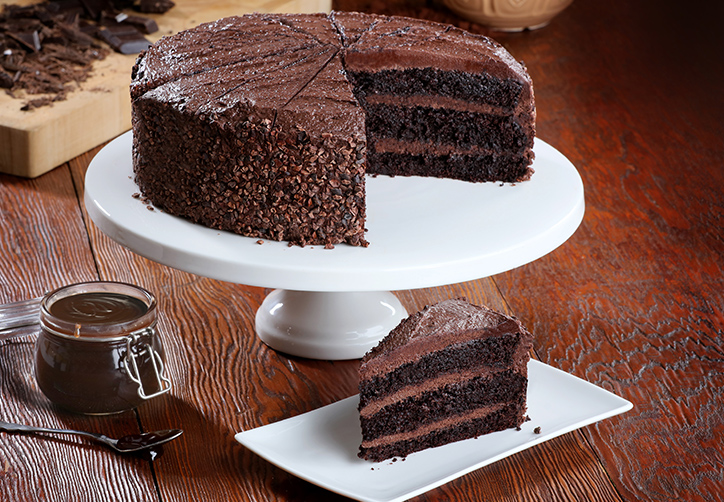 Vegan Belgian Chocolate Fudge Cake