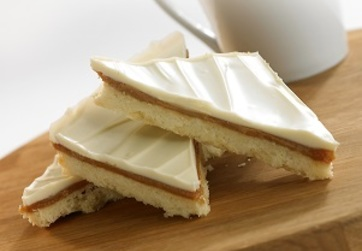 White Chocolate Caramel Shortcake