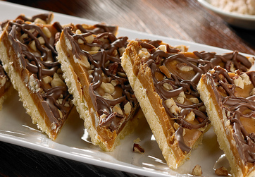 Salted Caramel and Nut Slice